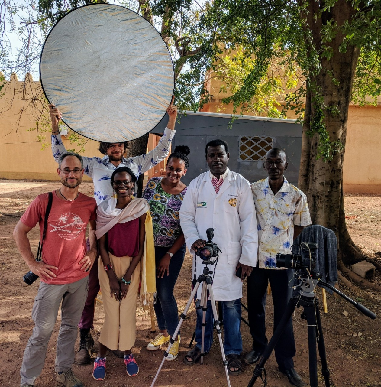 Capturing the Work of Target Malaria